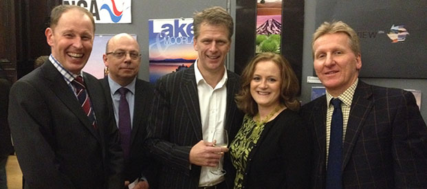 Rose Calendars Team with Andrew Castle