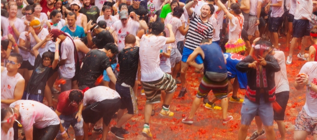 Summer Madness at La Tomatina