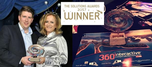 360interactive Calendar Wins an 'Out of This World' Award