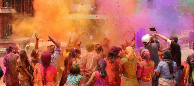 Holi, Festival of Colour and Love