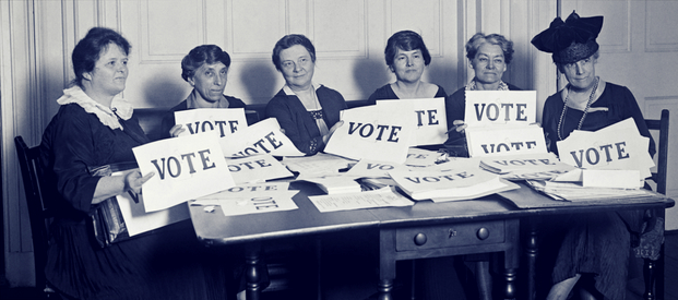 2018 - 100 Years Since Women got the Vote
