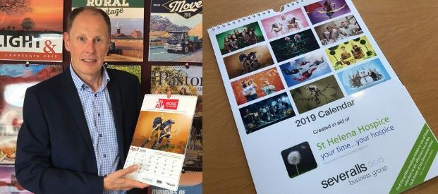 St Helena Hospice Calendar