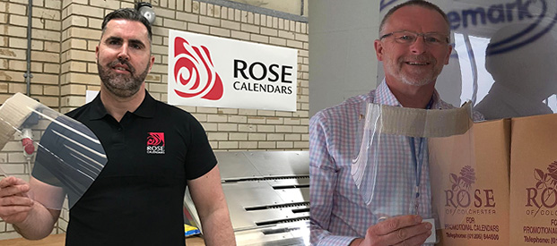Rose Calendars Visors for Care Homes