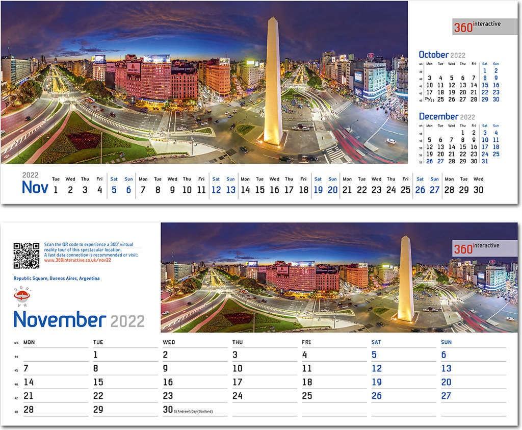 Interactive Calendar 2022.360interactive Note Station Desk Calendar 2022 Rose Calendars