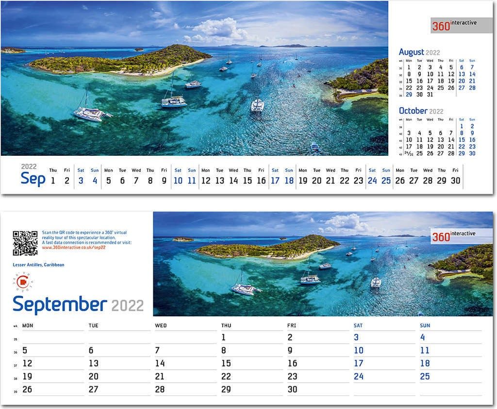 Interactive Calendar 2022.360interactive Desk Calendar 2022 Rose Calendars