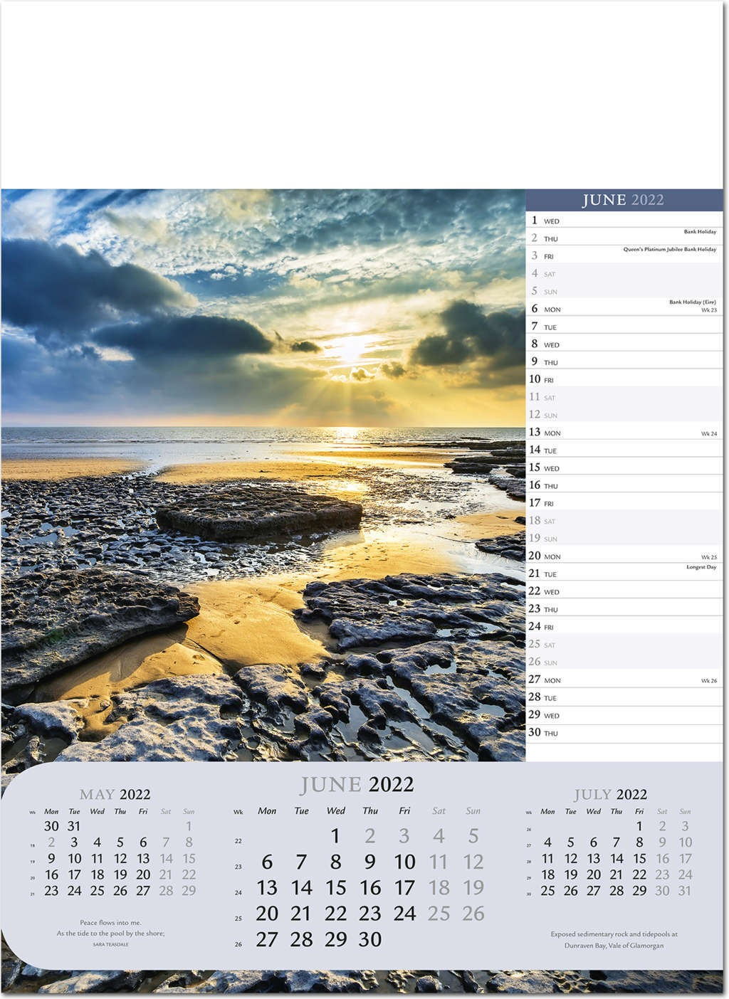 Usps Calendar 2022.Moods Of Nature Calendar 2022 Rose Calendars