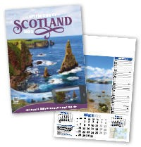 Splendour of Scotland Calendar