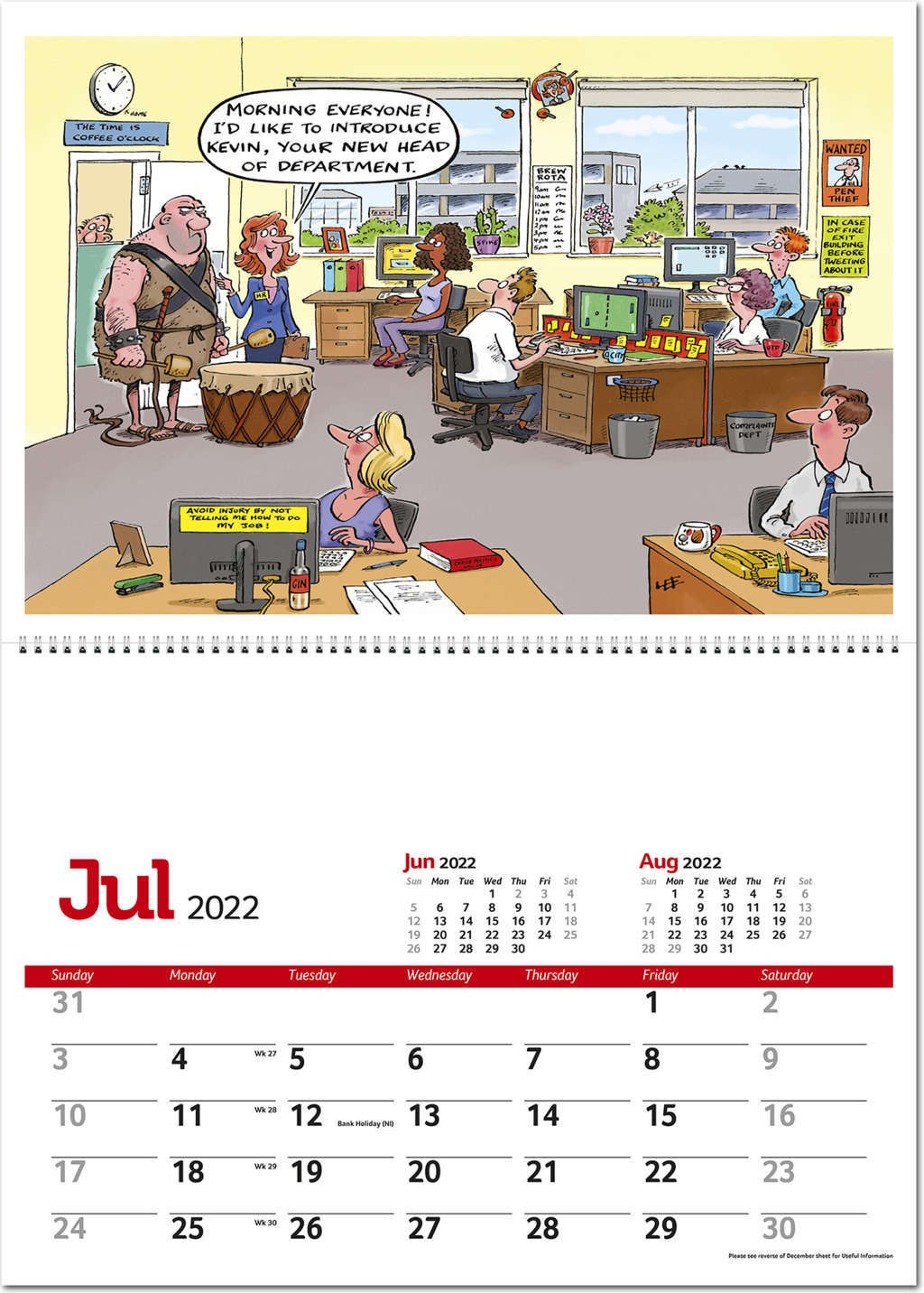 Lee Fearnley's Working Wind-Ups Postage Saver Calendar