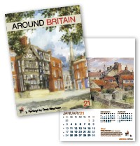 Around Britain Calendar