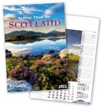 Scenic Tour of Scotland Calendar