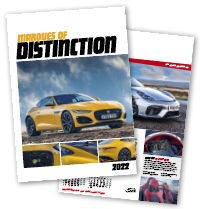 Marques of Distinction Wall Calendar