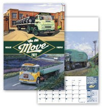 On the Move Wall Calendar