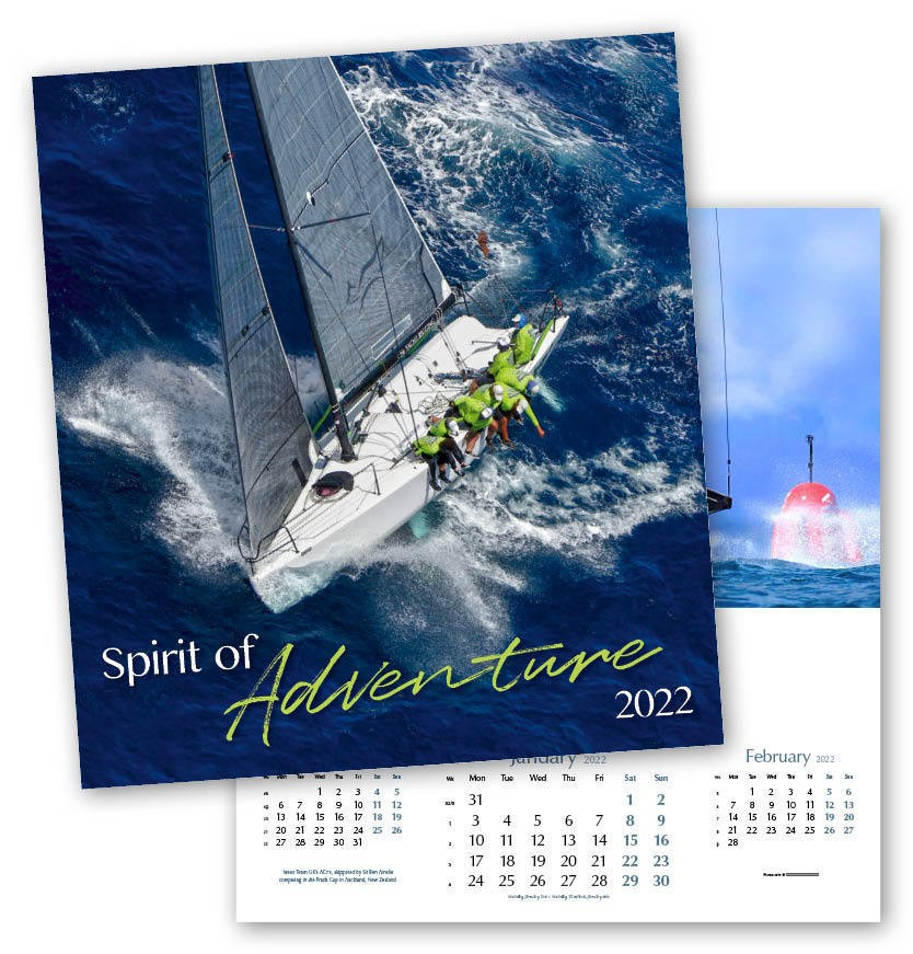 Spirit of Adventure Calendar