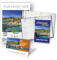 Discover Britain Calendar and Notebook/Diary Set