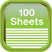 Notepad - Sheets 100
