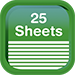 Notepad - Sheets 25