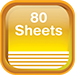 Notepad - Sheets 80